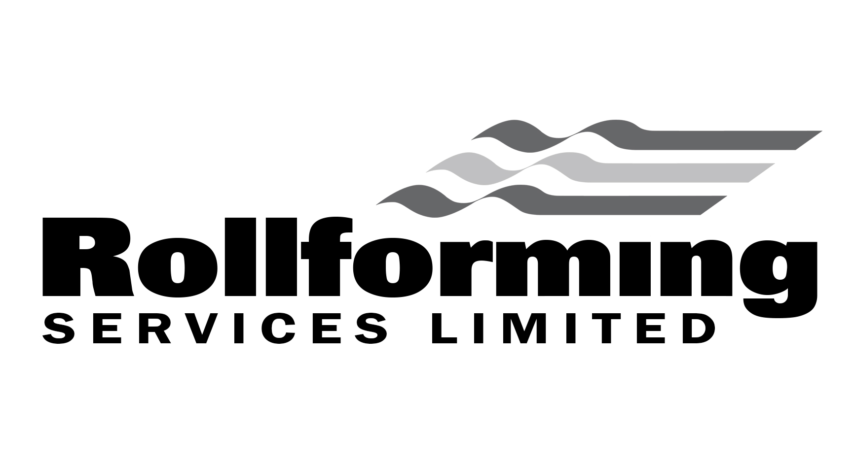 Rollforming services logo white